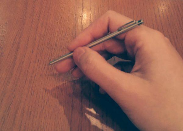 無印良品の極小ボールペン