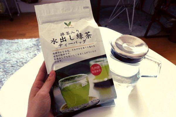 水出し緑茶のティーバッグ