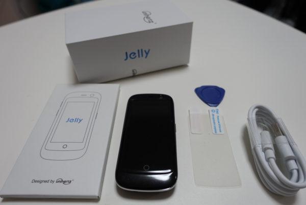 Jelly Proの箱を開封したところ