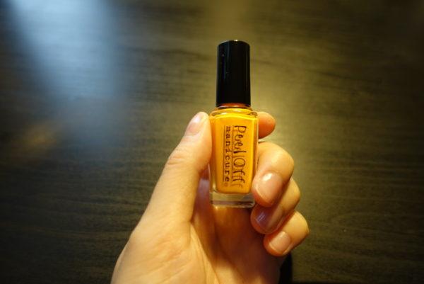 100均のキャンドゥ「Peel Off manicure」