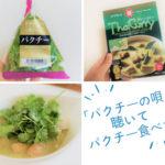 宇多田ヒカル「パクチーの唄」を聴いて無性にパクチーが食べたくなった!暑い夏にぴったりパクチーカレー!