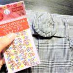 【100均】ピンなしバックベルトの緩みは、スナップを縫いつけて解決!