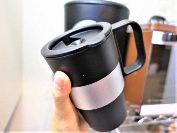 カリタの一杯用コーヒーメーカー(TS-101)に付属されている保温機能付きマグカップ
