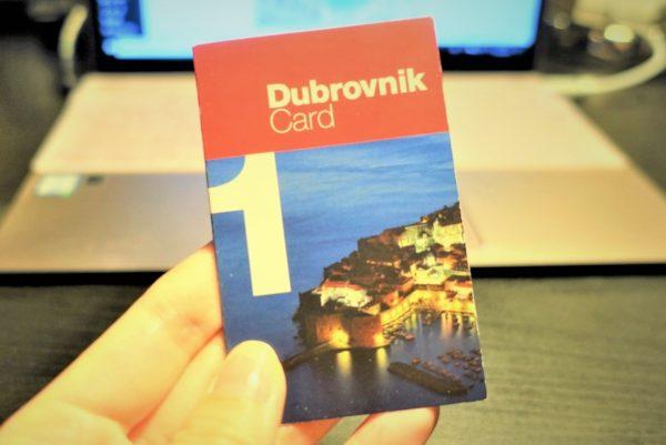 ドブロブニクカード1日券