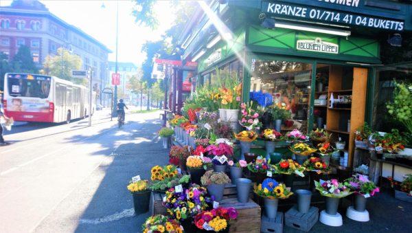 ウィーンの花屋さん