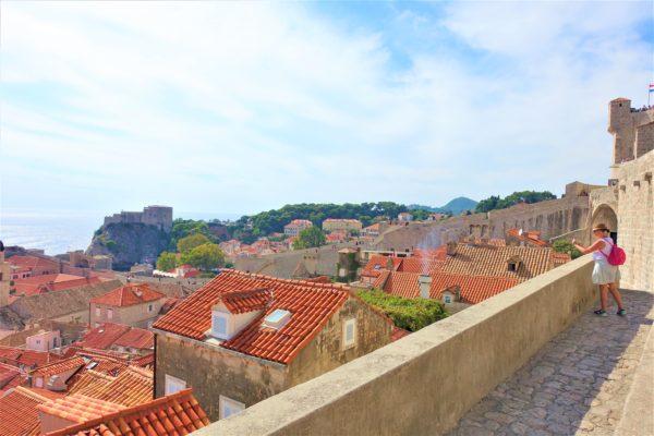 ドブロブニクカードを使って城壁巡り(Dubrovnik City Walls)