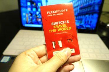 海外旅行用SIMのFlexiroamフレキシロームの設定方法。世界150ヵ国対応でデータをチャージすれば何回でも使えるSIMカード!