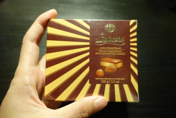 大型スーパーマーケットのKonzumに定番土産バヤデラチョコレートが売っていた