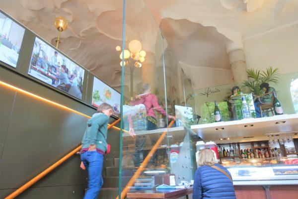 カサ・ミラにあるカフェEl Cafè de la Pedrera