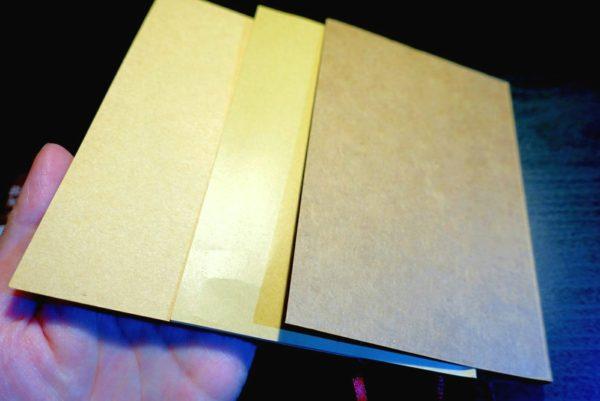 無印良品の文庫本ノートとそっくりな100均ノートダイソーとキャンドゥを比較