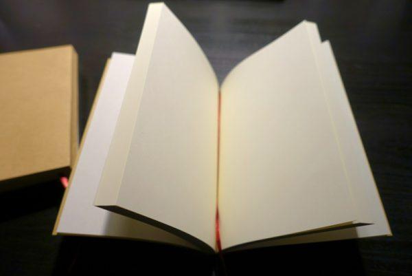 無印良品の文庫本ノート