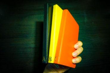 ノートに直接インデックスを書き込むノート術