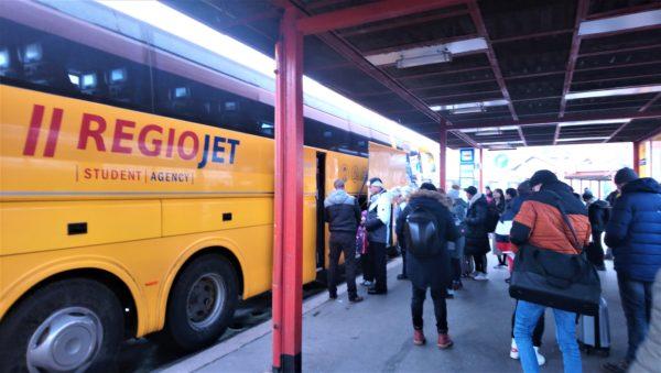 REGIOJETバスの乗車方法