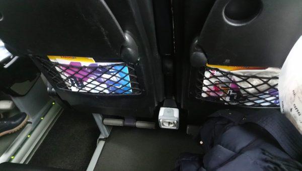 REGIOJETバスの座席について