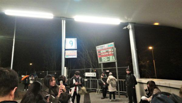 チェスキークルムロフのバスターミナル
