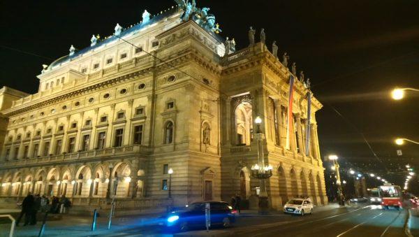 プラハの夜景