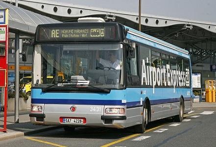 エアポート・エクスプレスのバス