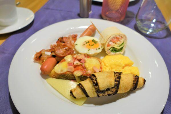 クロアチアのザグレブのLivris Hotel(リビリスホテル)の朝食