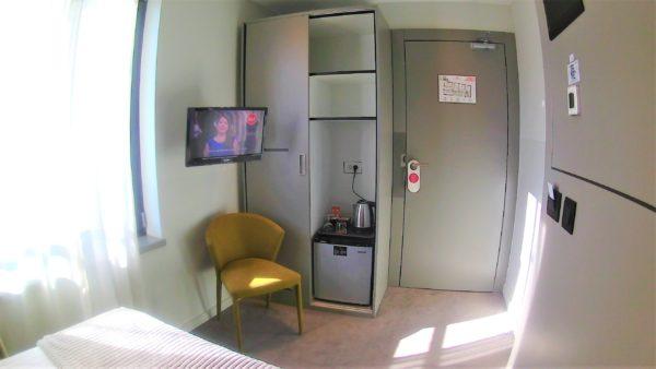 クロアチアのザグレブのLivris Hotel(リビリスホテル)の部屋