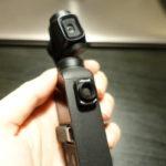 Osmo Pocketの広角レンズを本体に携帯する方法。100均のマグネットシートを本体に貼るだけ!携帯ケースいらない!