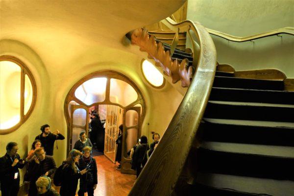 カサ・バトリョの玄関ホール