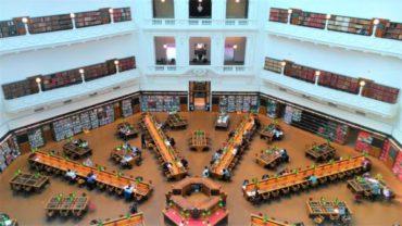死ぬまでに行きたい世界の図書館!メルボルン「ビクトリア州立図書館」が美しすぎる!