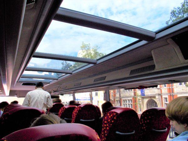 megabus(メガバス)の車内