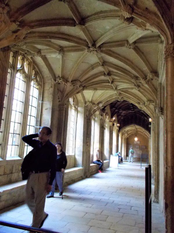 クライストチャーチの廊下はホグワーツそのもの