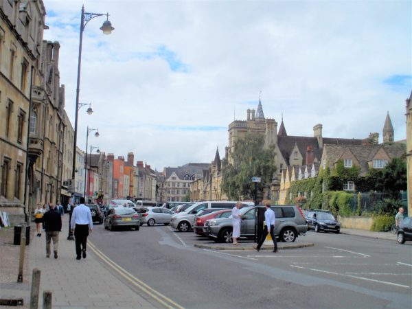 オックスフォードの街並み
