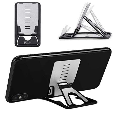 財布に入るスマホスタンド!カードサイズで軽くてコンパクト!携帯性が抜群!