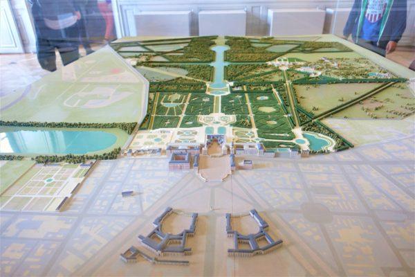 ベルサイユ宮殿の模型