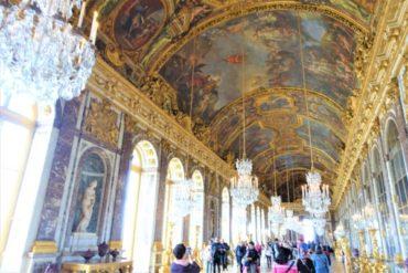 【パリ】豪華なべルサイユ宮殿のRERを使った行き方と内部の様子についてまとめました!