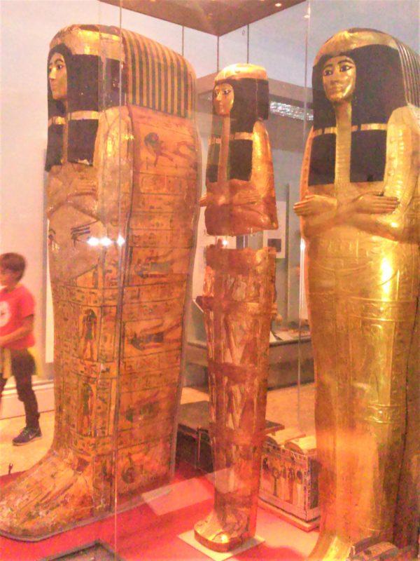 大英博物館の黄金のミイラ