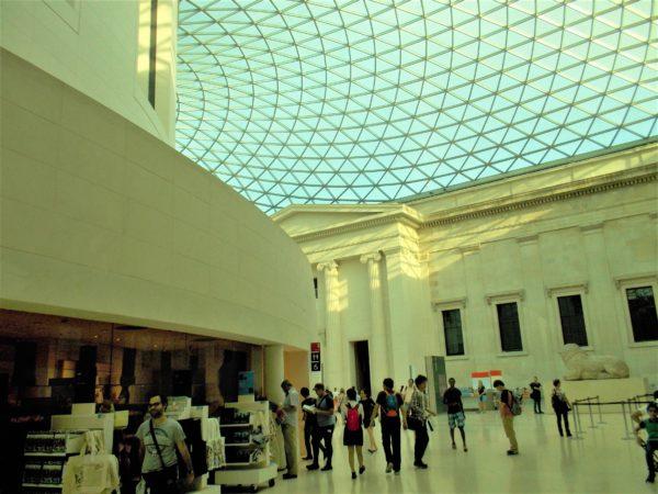 大英博物館のグレートコート