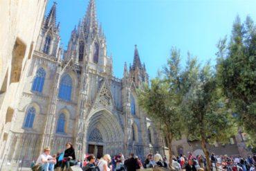 【バルセロナ】カテドラル(サンタ・エウラリア大聖堂)の行き方と入場方法。ゴシック地区のシンボルに行ってきた!