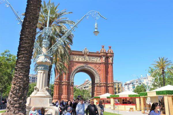 バルセロナ凱旋門