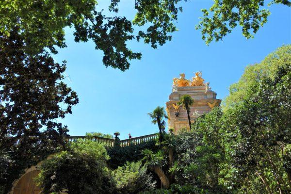 ガウディがはじめて建築した噴水がある「シウタデリャ公園」