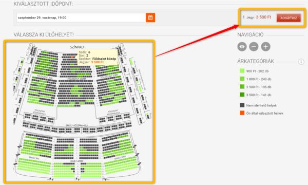 ハンガリー国立歌劇場の公式HPからチケット購入する方法