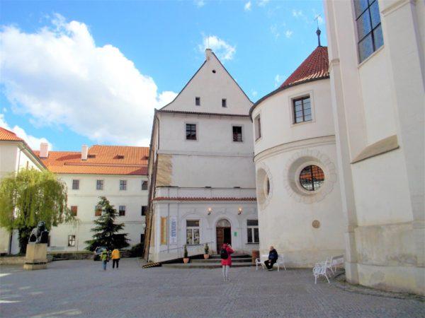 ストラホフ修道院の民族博物館の入口