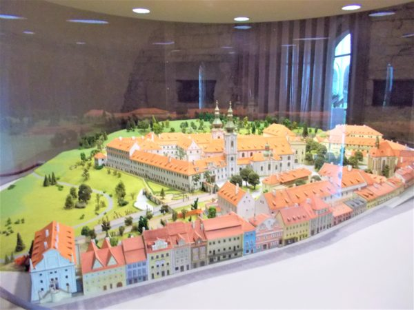 ストラホフ修道院の民族博物館のミニチュア