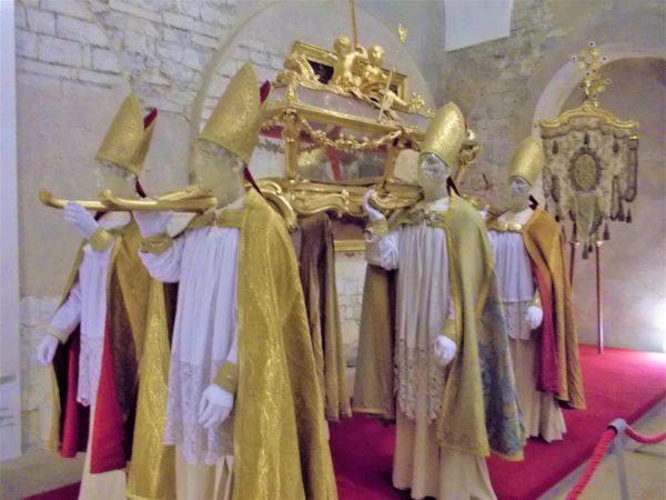 ストラホフ修道院の民族博物館の展示物