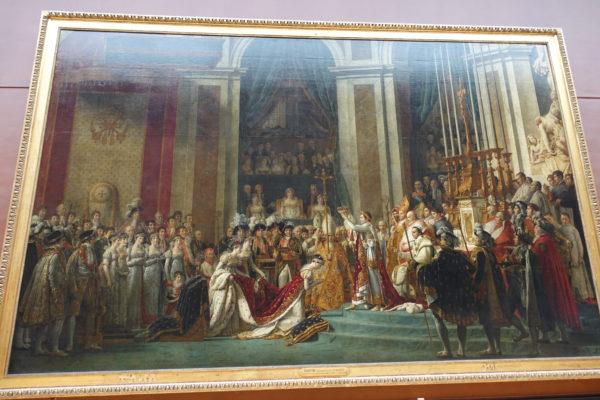 ナポレオン1世の戴冠式(展示室702)