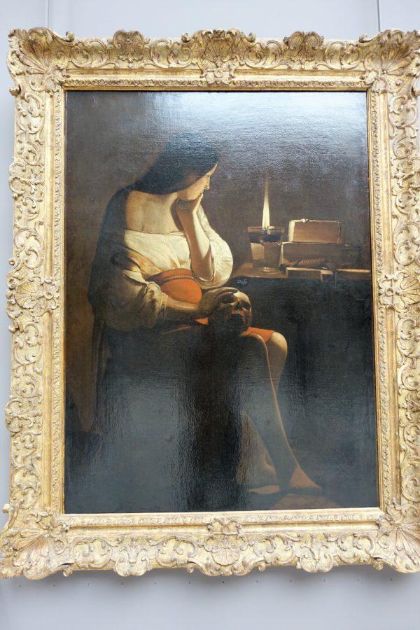 灯火の前の聖火マドレーヌ(展示室912)