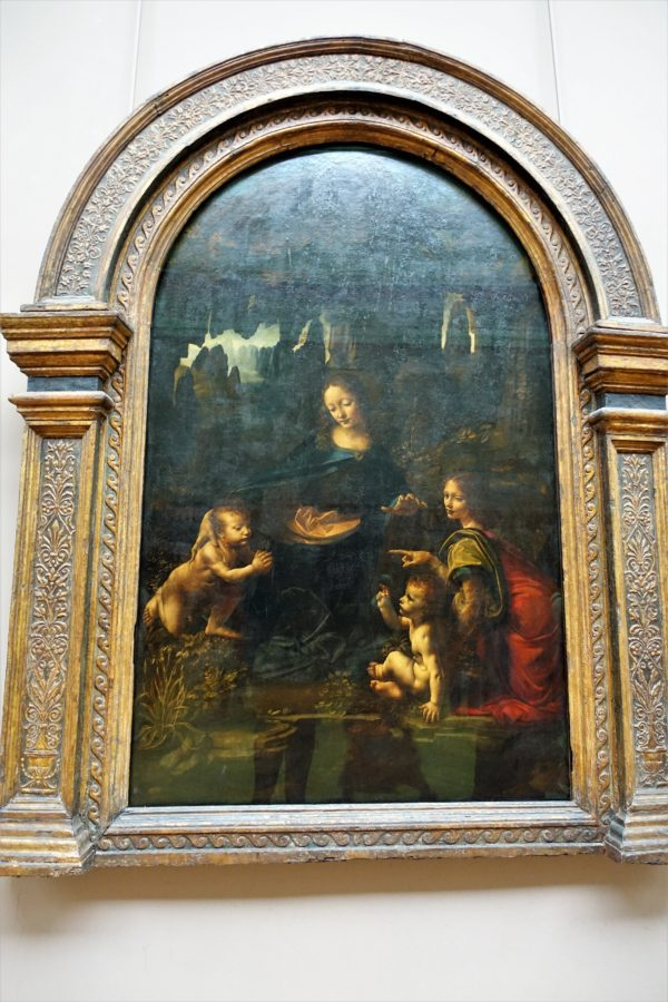 岩窟の聖母(展示室710)