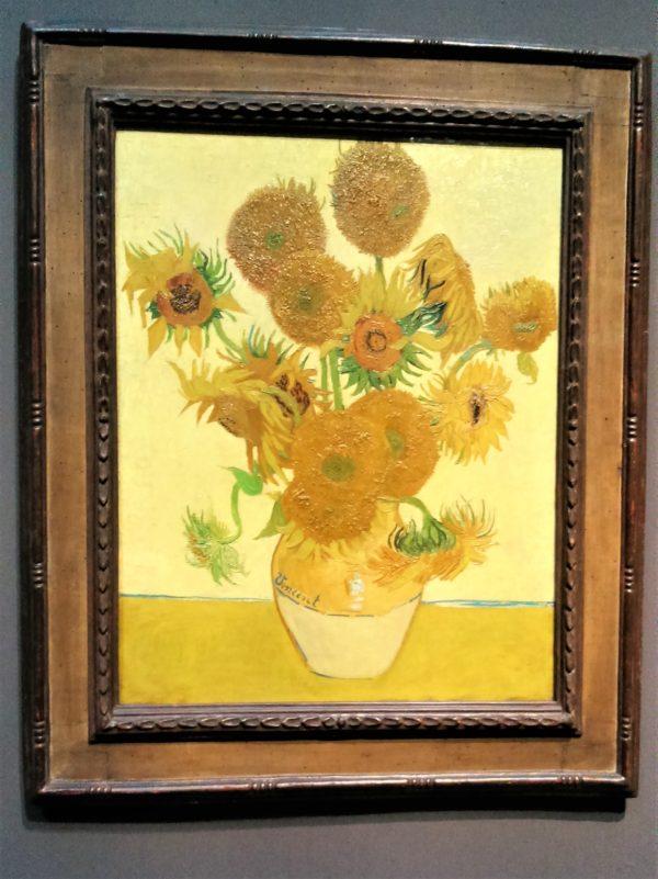 ロンドンのひまわり(Sunflowers)