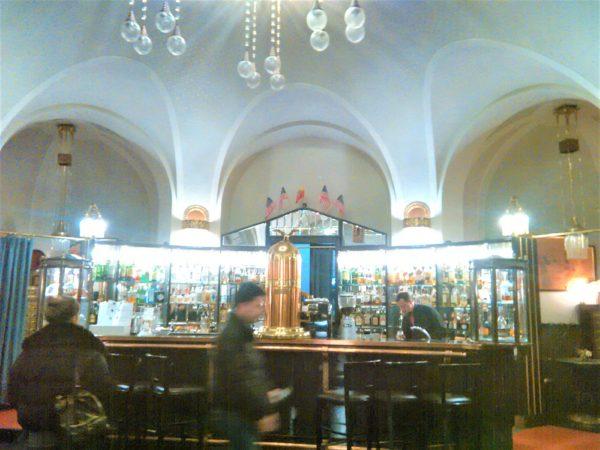 プラハ市民会館のビアホール