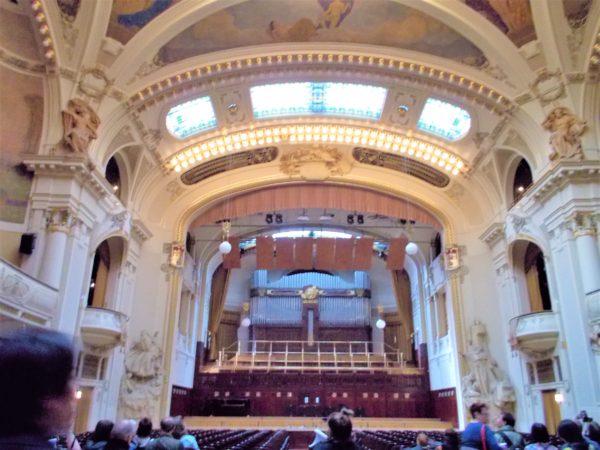 プラハ市民会館のスメタナ・ホール