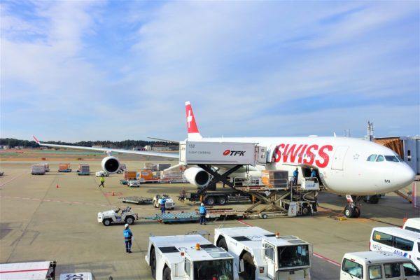 スイス航空の航空機