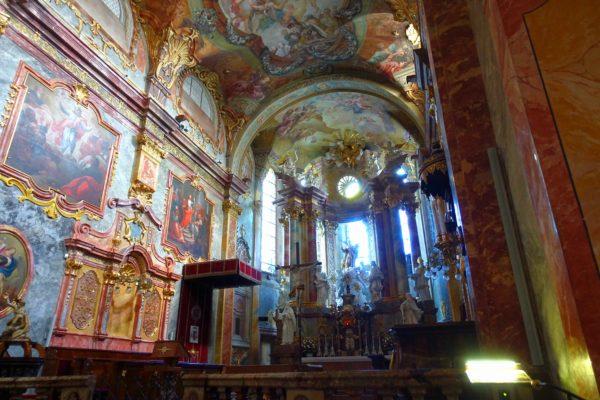 ニトラ城の教会