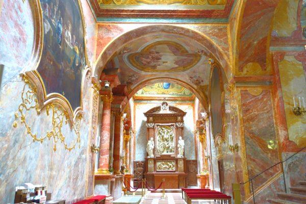 ニトラ城の内部